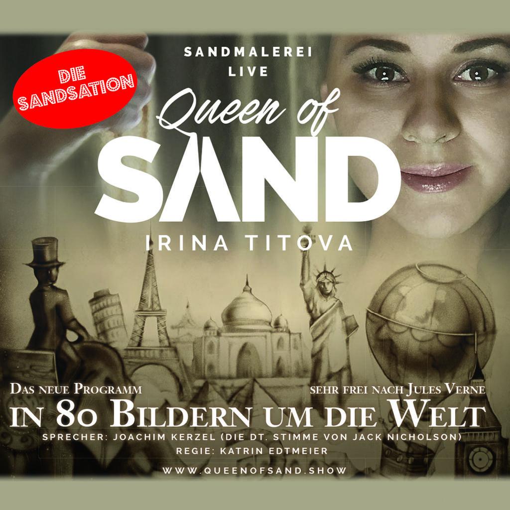 Irina Titova - Queen of Sand Tickets