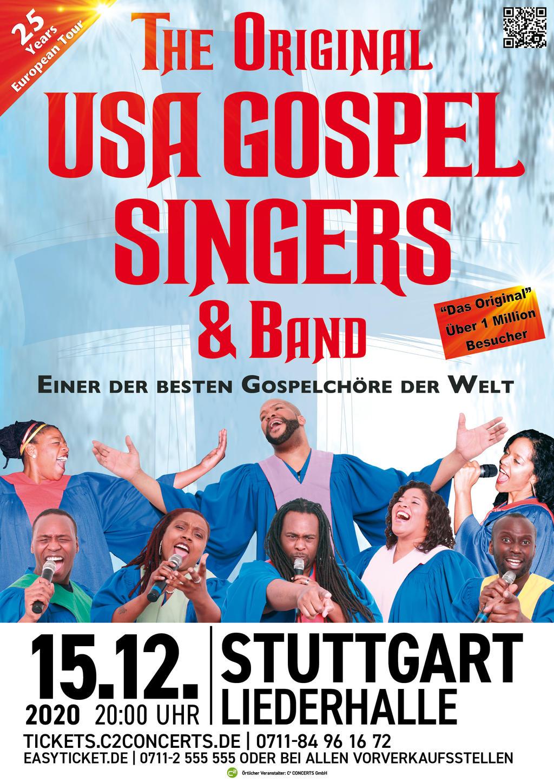 THE ORIGINAL USA GOSPEL SINGERS & BAND Tickets