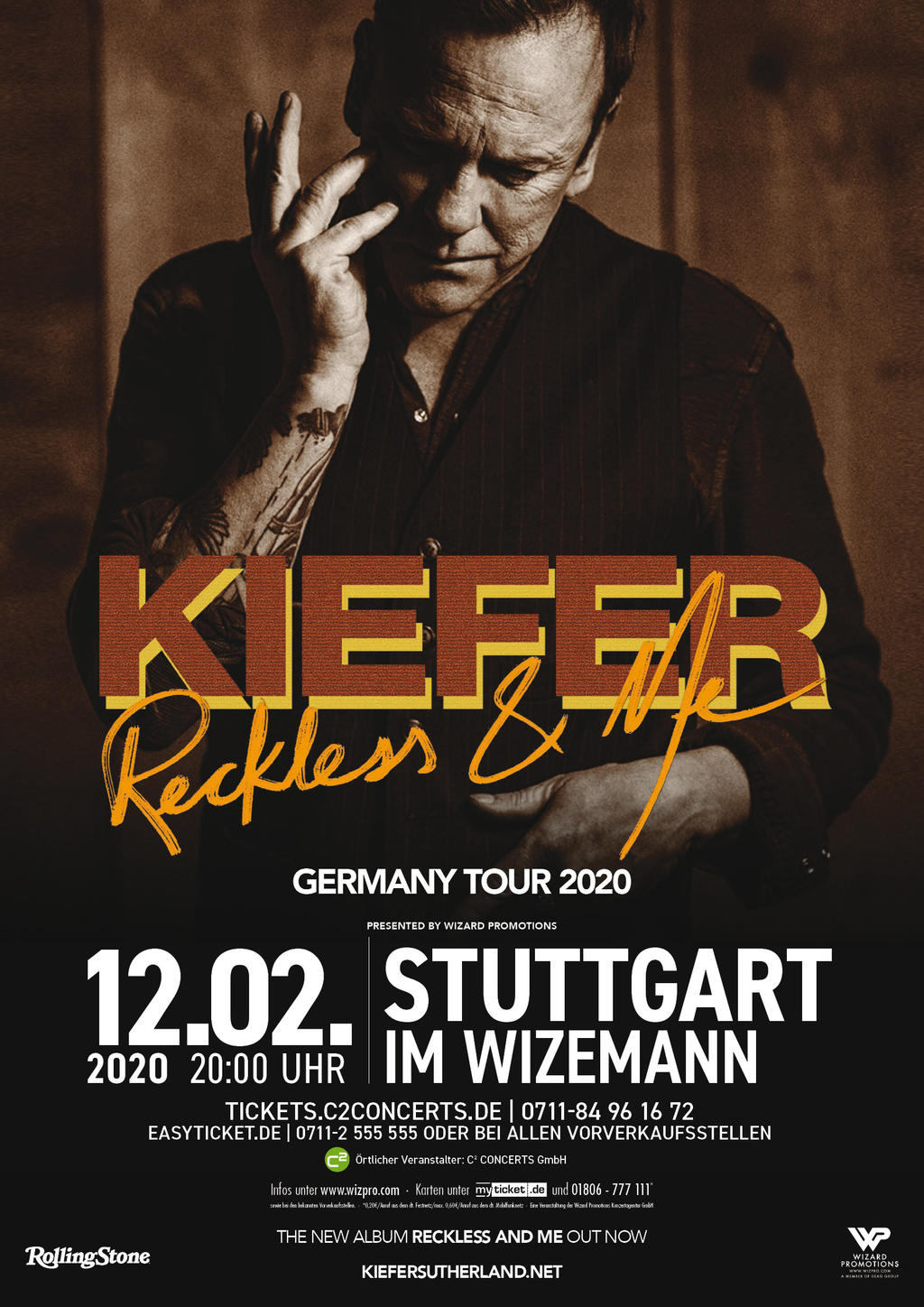 Kiefer Sutherland Tickets