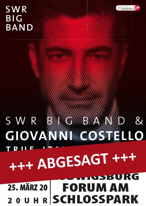SWR Big Band & Giovanni Costello Tickets