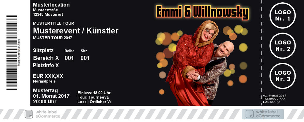 Emmi & Willnowsky Colorticket