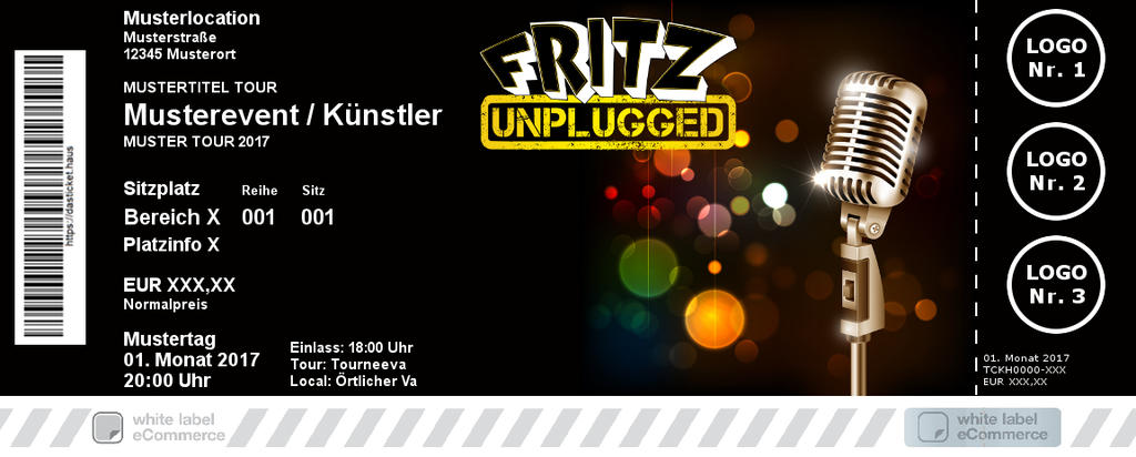 FRITZunplugged Colorticket
