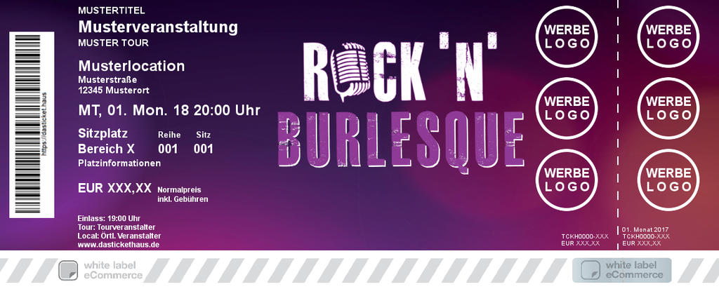 Rock ´n´ Burlesque Colorticket