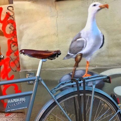Hamburg Radtour