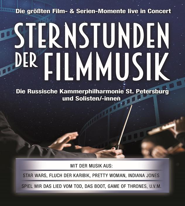 STERNSTUNDEN DER FILMMUSIK Tickets