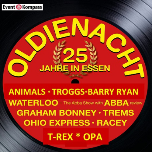 RACEY * BARRY RYAN * OHIO EXPRESS * u.v. andere Tickets
