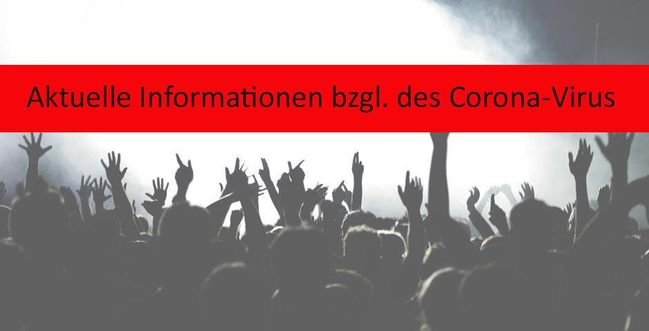 Aktueller Stand Corona Virus / 13.03.2020 10:21 Uhr