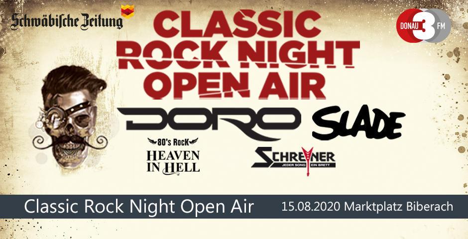 VVK-Start: Classic Rock Night Open Air 2020 Biberach