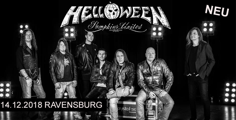 HELLOWEEN kommt am 14.12.2018 nach Ravensburg!