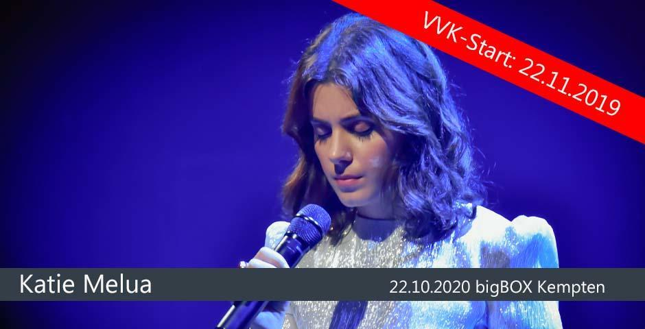 VVK-Start: Katie Melua