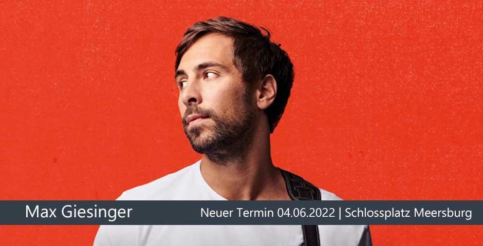 Verschoben: Max Giesinger | Meersburg