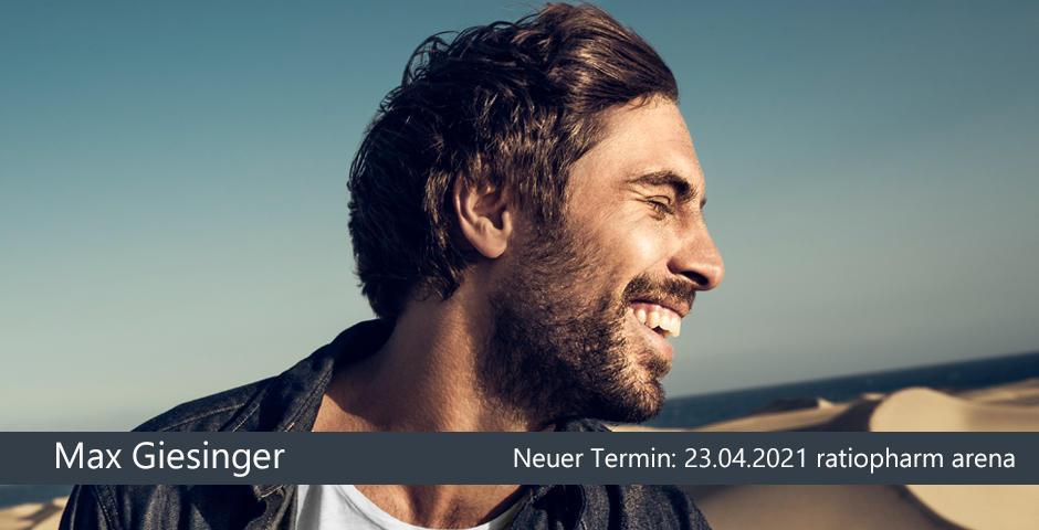 Verschoben: Max Giesinger Neu-Ulm