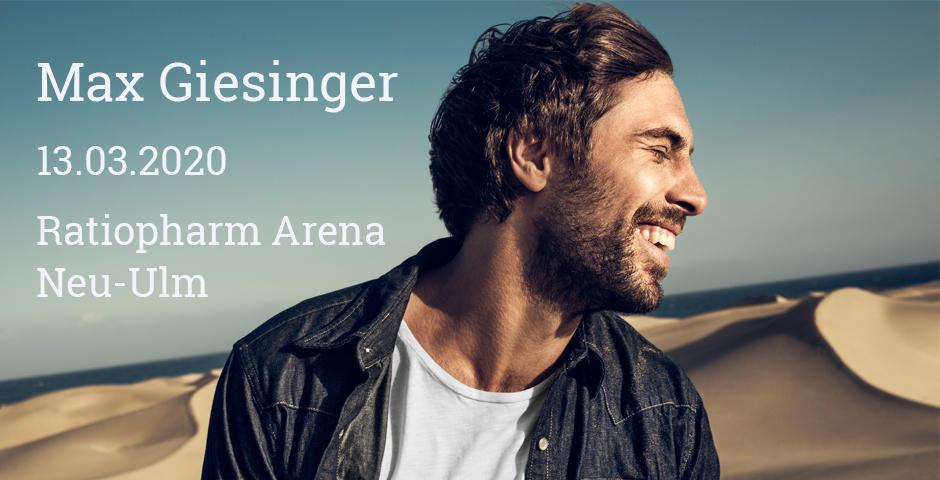 VVK-Start: Max Giesinger