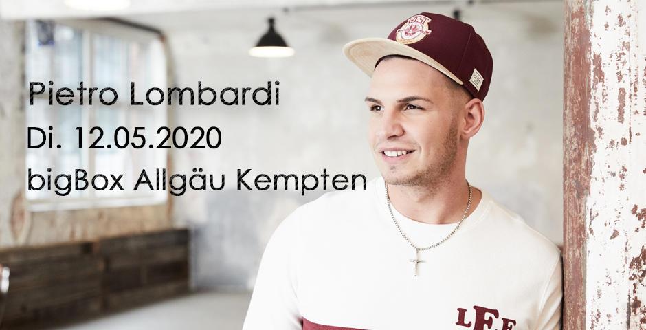 VVK-Start: Pietro Lombardi