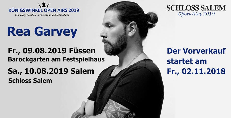 VVK-Start: REA GARVEY | Neon Summer Tour 2019