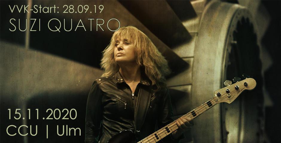 VVK-Start: Suzi Quatro