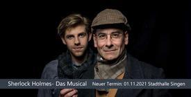 Verschoben: Sherlock Holmes - Das Musical