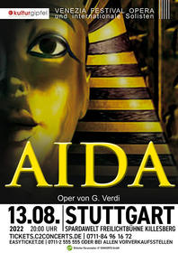 AIDA - Oper von Giuseppe Verdi Tickets