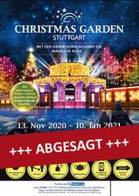 Christmas Garden Tickets