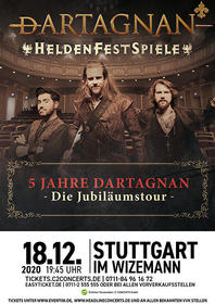 dARTAGNAN Tickets