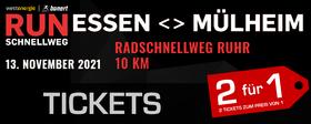RUNschnellweg Essen<>Mülheim