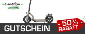 e-motion e-Bike Welt