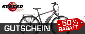 Fahrrad Seeger - Pegasus Premio E8F Sport