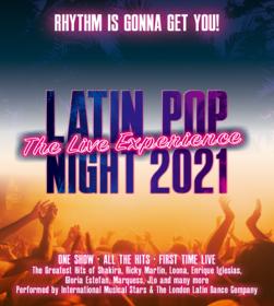 Latin Pop Night 2022 Tickets
