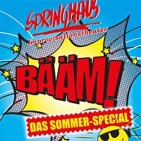 Springmaus Improvisationstheater - BÄÄM - Das Sommerspecial Tickets
